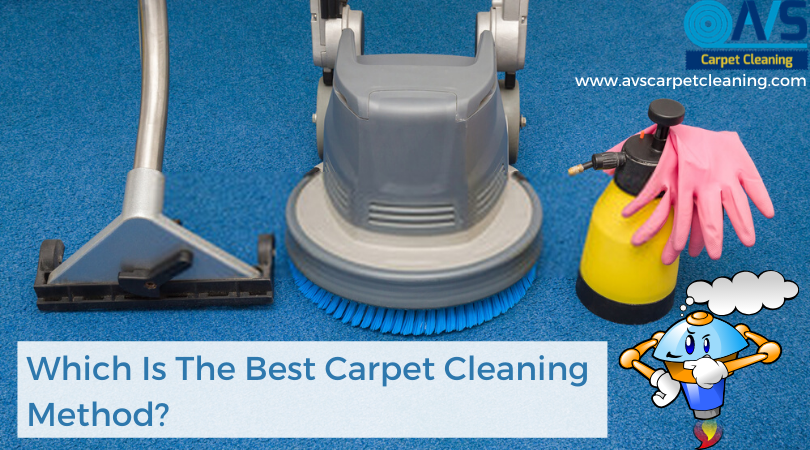 Which Is The Best Carpet Cleaning Method?