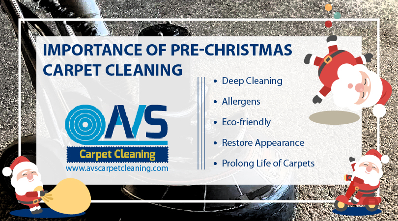 Importance Of Pre-Christmas Carpet Cleaning