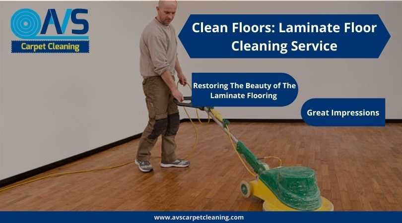 Clean Floors: Laminate Floor Cleaning Services