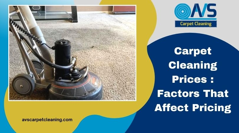 Carpet Cleaning Prices: Factors That Affect Pricing