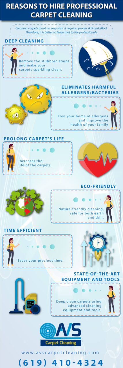 Reasons To Hire Professional Carpet Cleaning